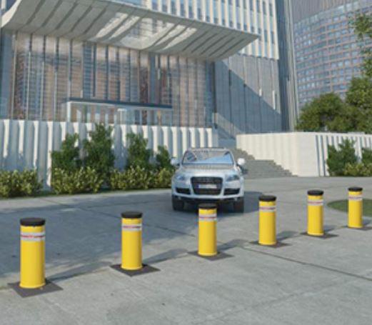 Talos High Security Automatic Bollard Acdc Motorized